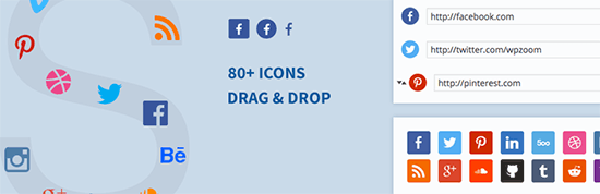 Social Icons Widget by WPZoom