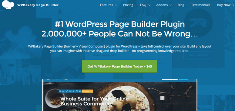 WP Bakery Page Builder - Visual Composer