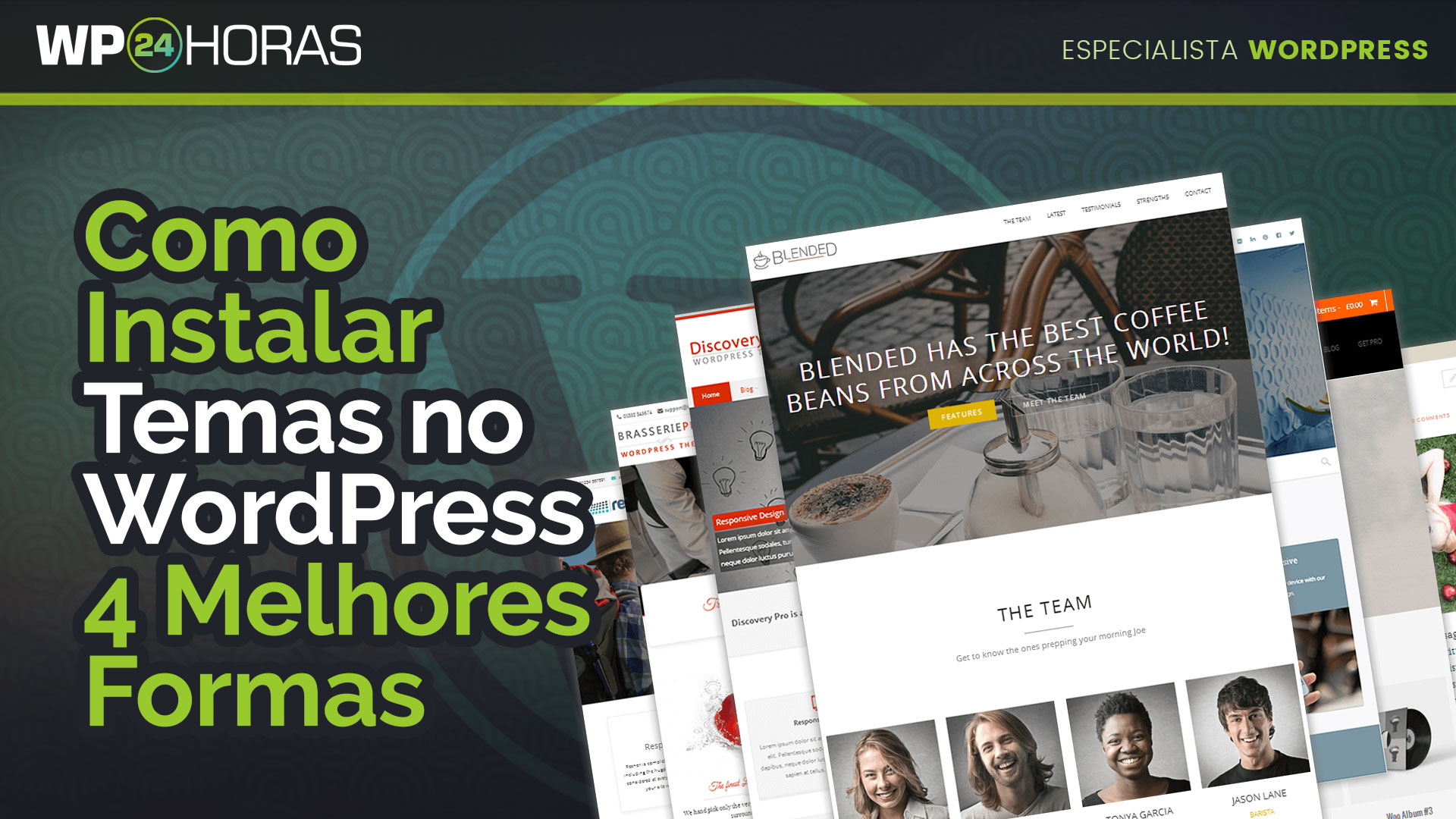 Como Instalar Temas no WordPress